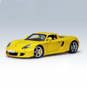 auto-art-porsche-carrera-gt-yellow