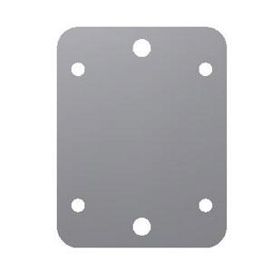 Handbrake mounting plates