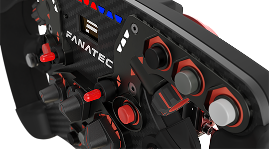 Loaded with Fanatec Innovation