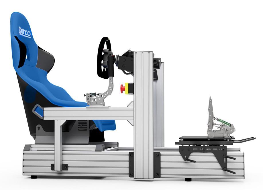 Sim-Lab P1 Sim Racing Chassis - Grey - Simulations1